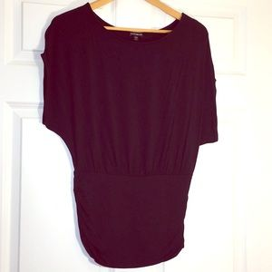Express Black Small Short Sleeve Dolman T-Shirt